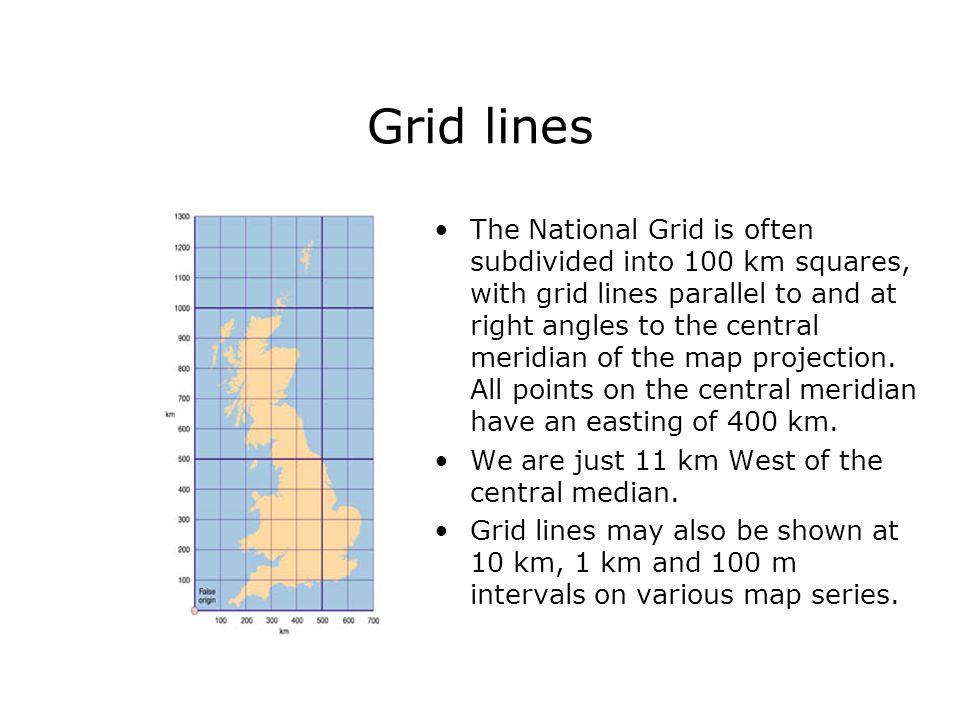 Grid lines