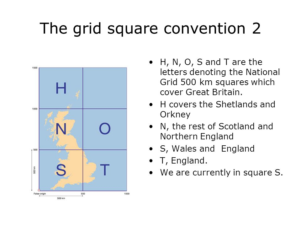 The grid square convention 2