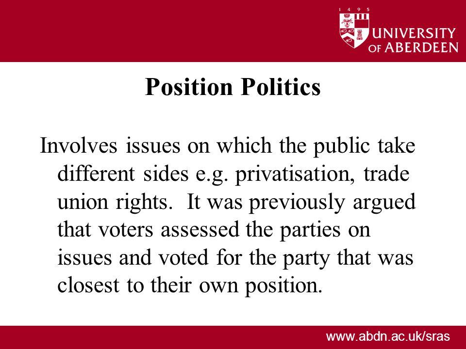 Position Politics