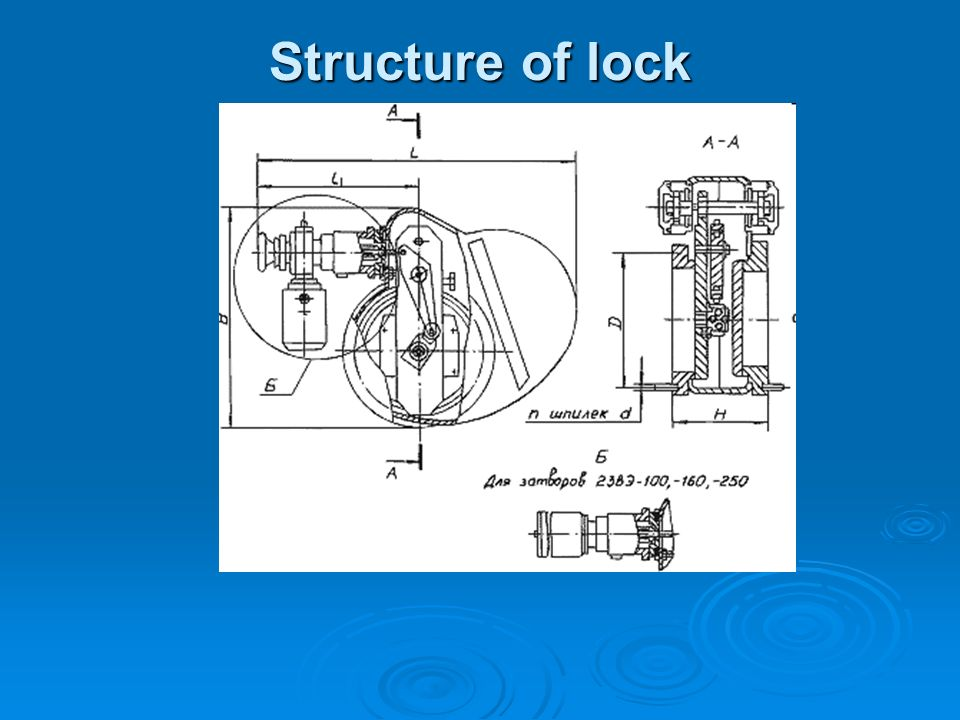 Structure of lock
