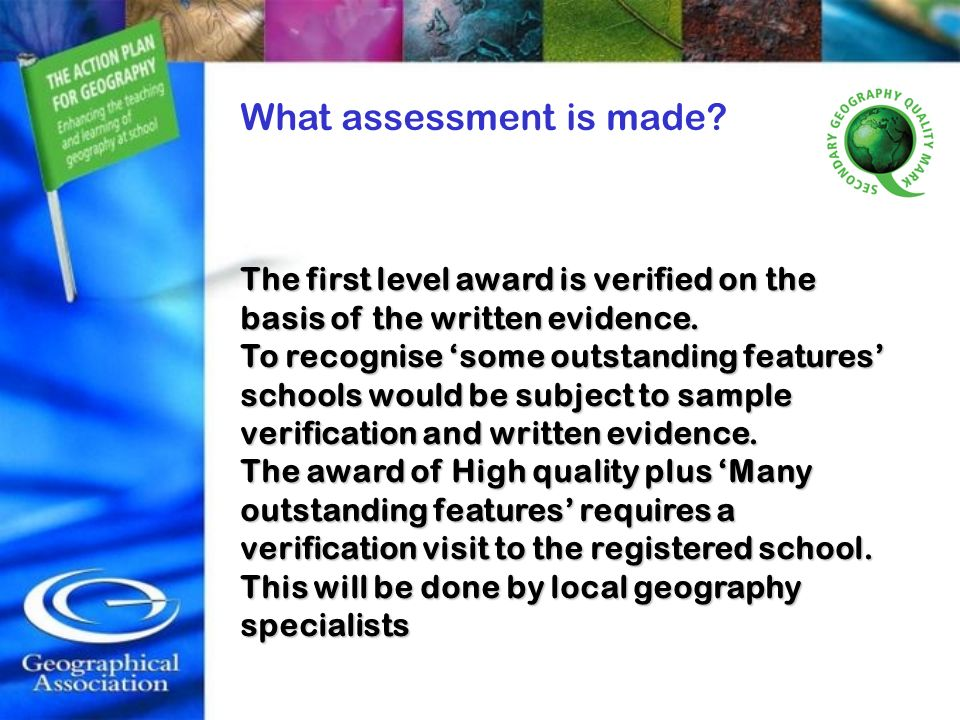 What assessment is made