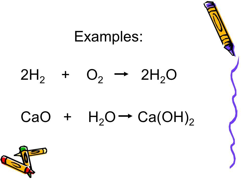 Cao+h2o