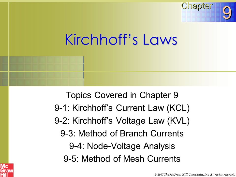 Kirchhoff ppt