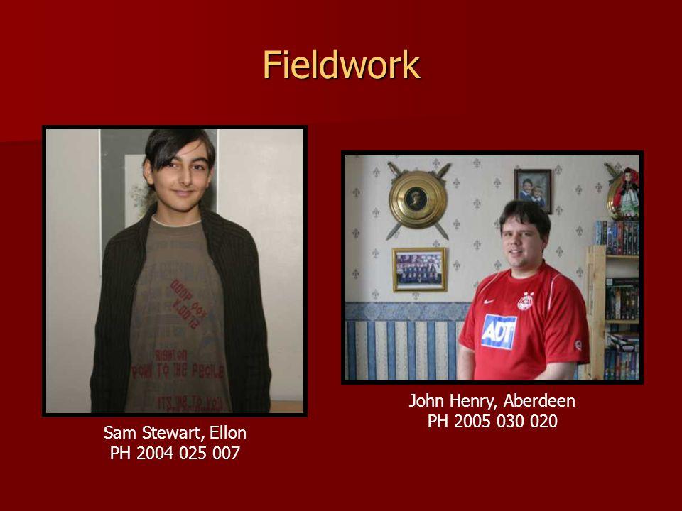 Fieldwork John Henry, Aberdeen PH 2005 030 020 Sam Stewart, Ellon