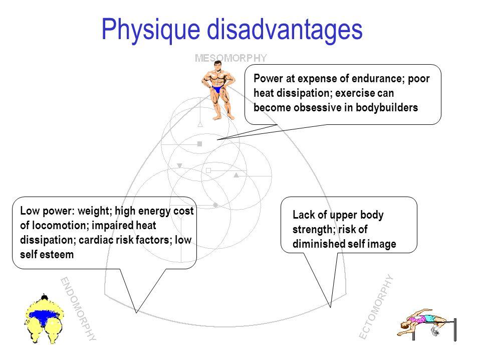 Physique disadvantages
