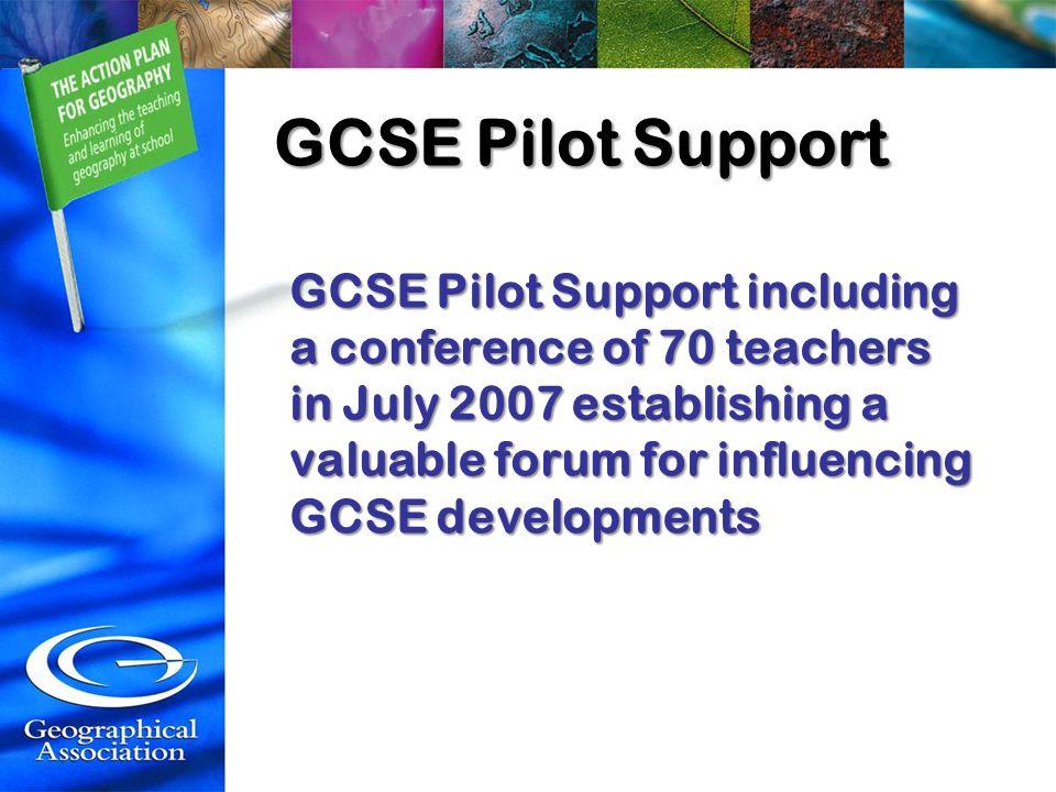 GCSE Pilot Support