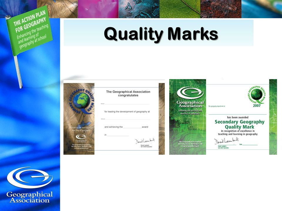 Quality Marks