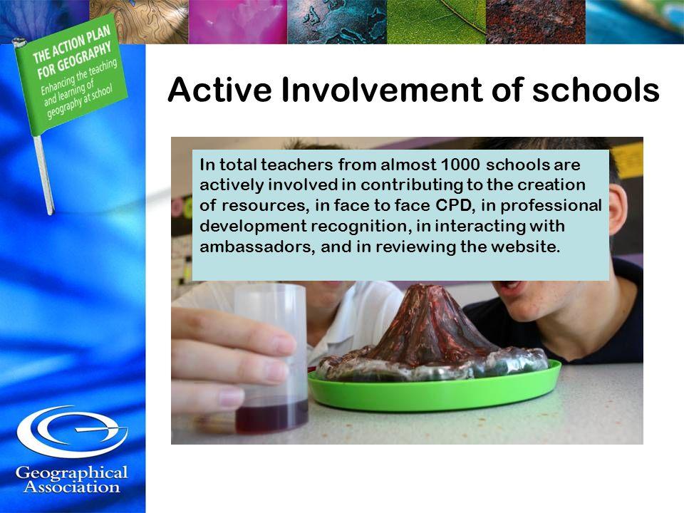 Active Involvement of schools