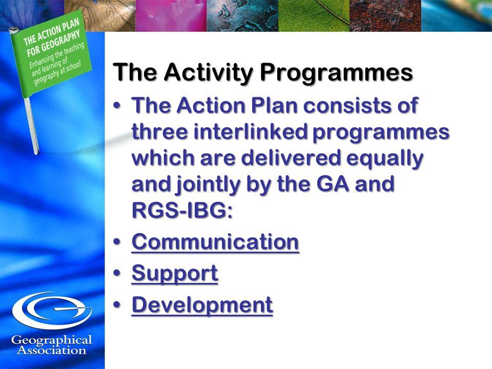 The Activity Programmes