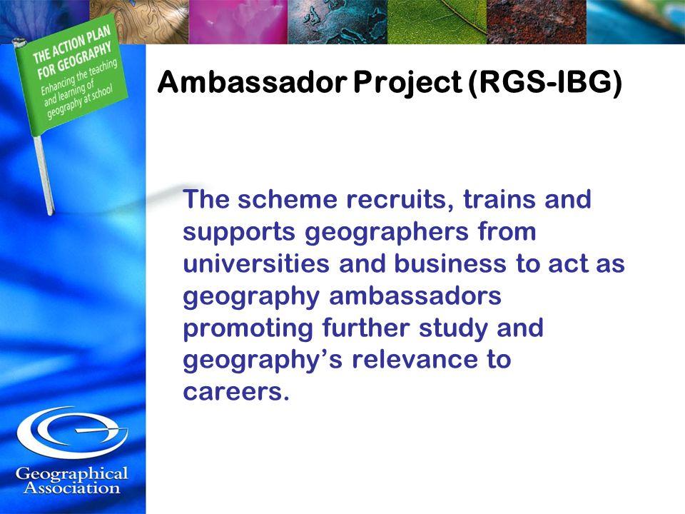 Ambassador Project (RGS-IBG)