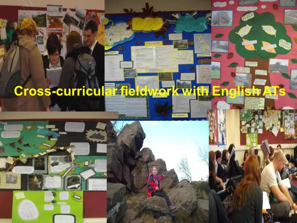 Cross-curricular fieldwork with English ATs