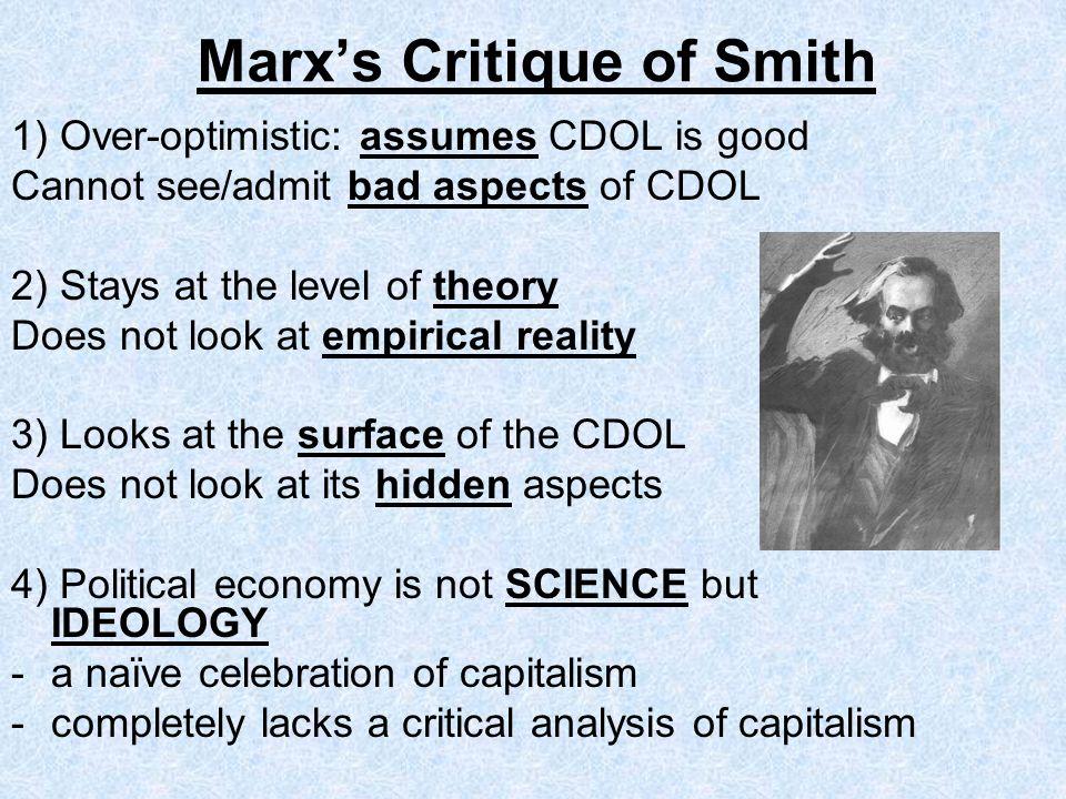 Marx's Critique of Smith
