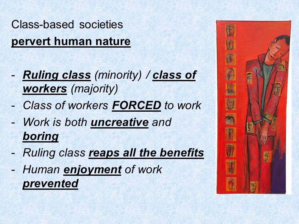 Class-based societies