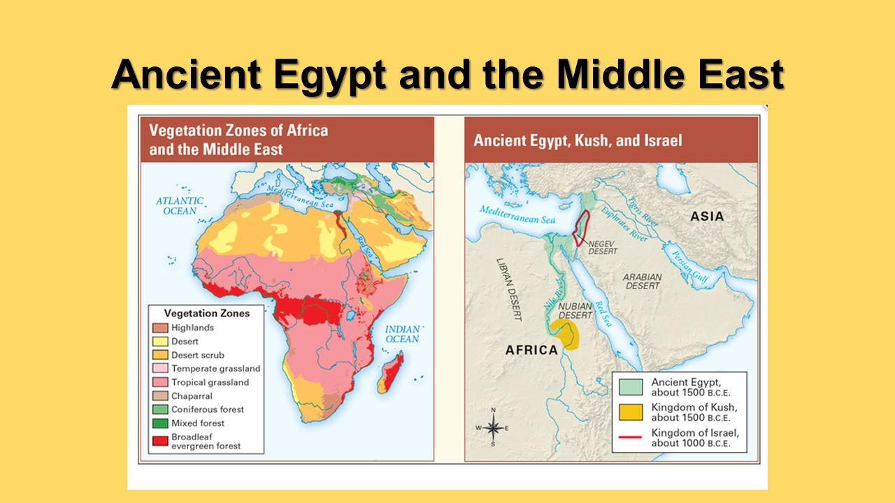 Chapter Geography And Early Settlement Of Egypt Kush And - Map of ancient egypt kush and israel