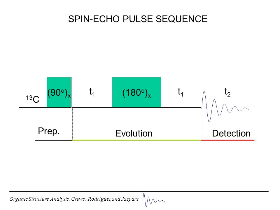SPIN-ECHO PULSE SEQUENCE