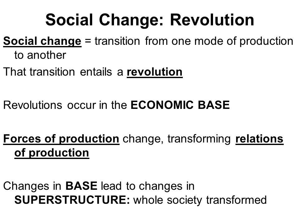 Social Change: Revolution