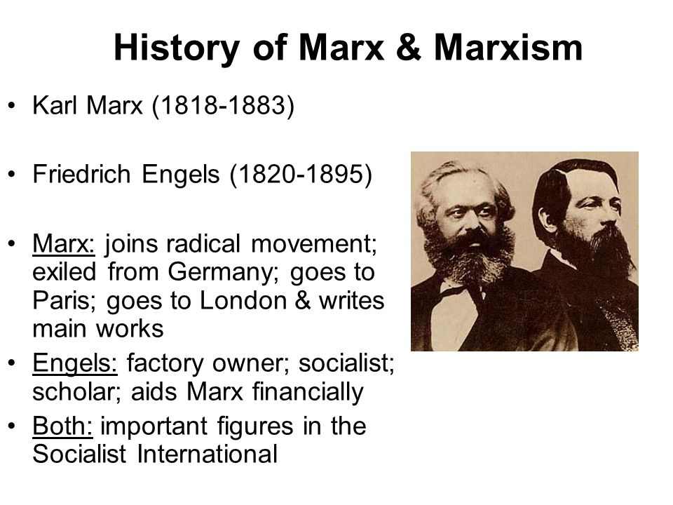similarities between marx and smith
