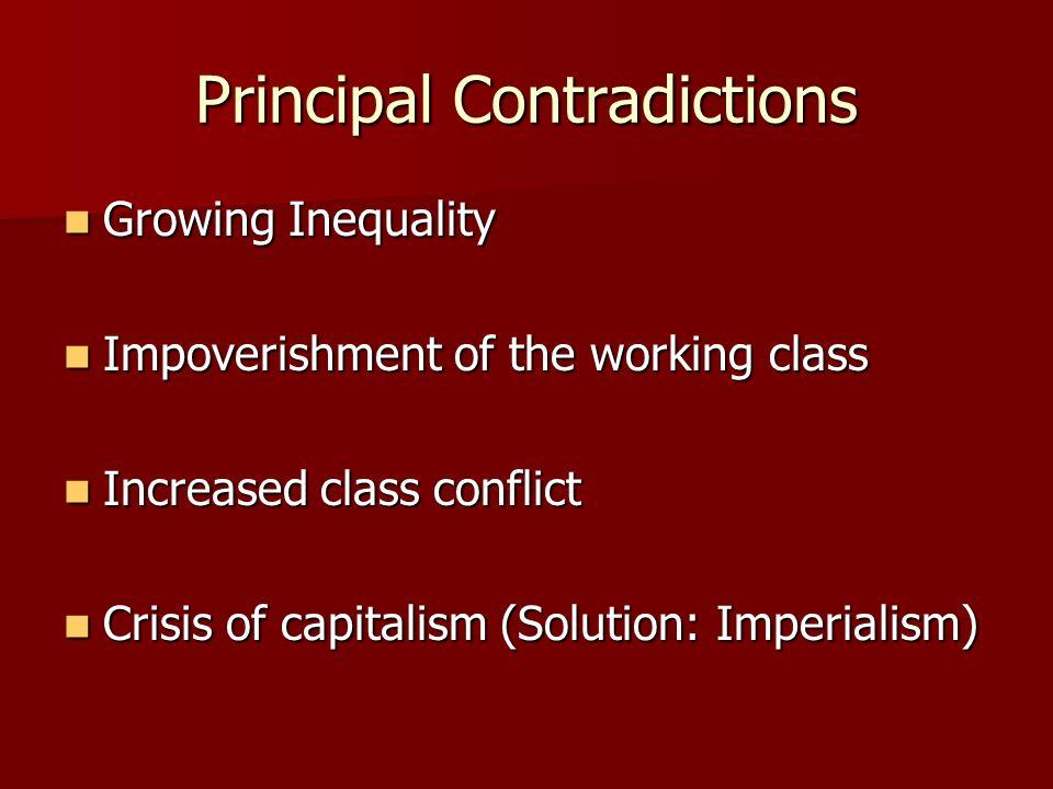 Principal Contradictions