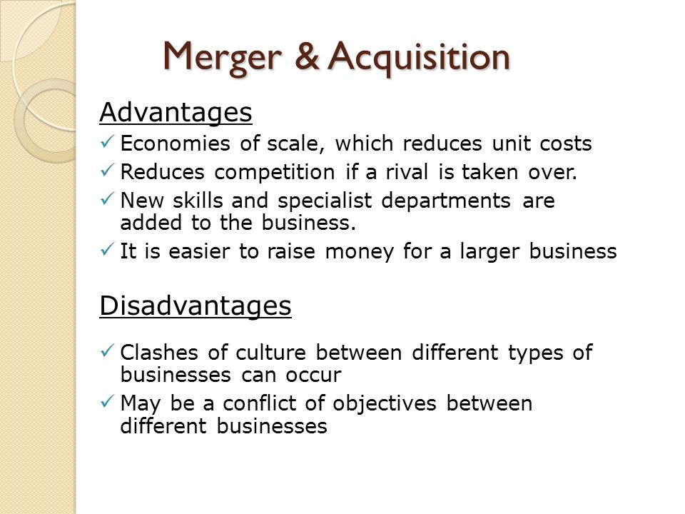 advantages and disadvantages of tata corus acquisition Strengths in the swot analysis of tata motors the internationalization strategy so far has been to keep local managers in new acquisitions, and to only transplant a.
