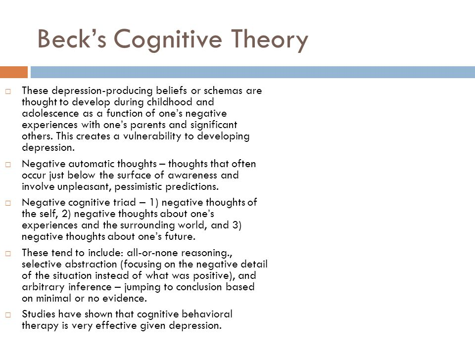 beck s theory of postpartum depression To perform a systematic review of the utility of the beck depression inventory for   of depression, the bdi-ii does not reflect any particular theory of depression   beck & gable, 2001 (44), english, 150, postpartum outpatients, 100, nr, 091.