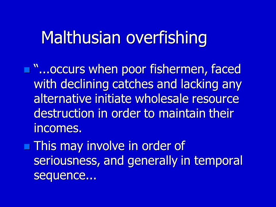 Malthusian overfishing