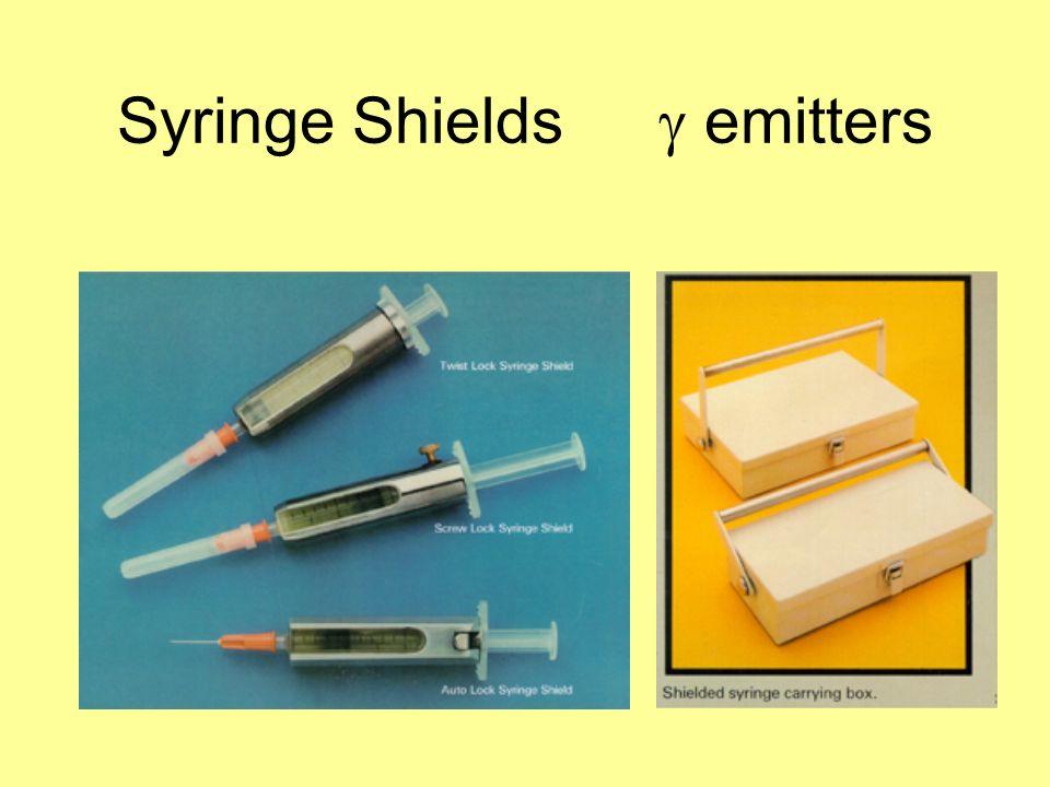 Syringe Shields g emitters