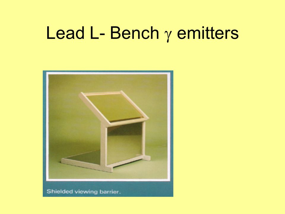 Lead L- Bench g emitters