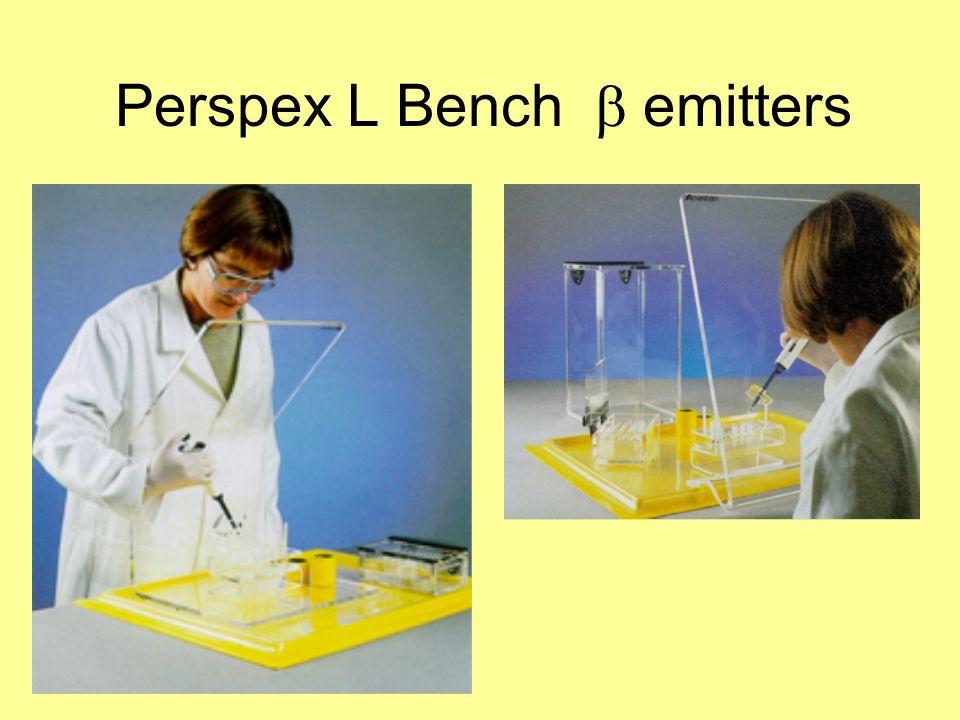 Perspex L Bench b emitters