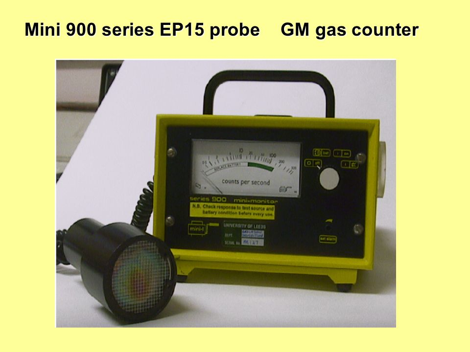Mini 900 series EP15 probe GM gas counter