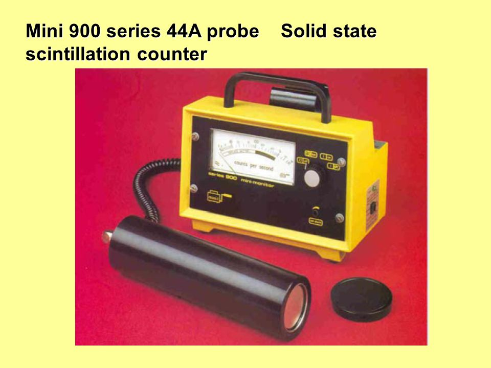 Mini 900 series 44A probe Solid state scintillation counter
