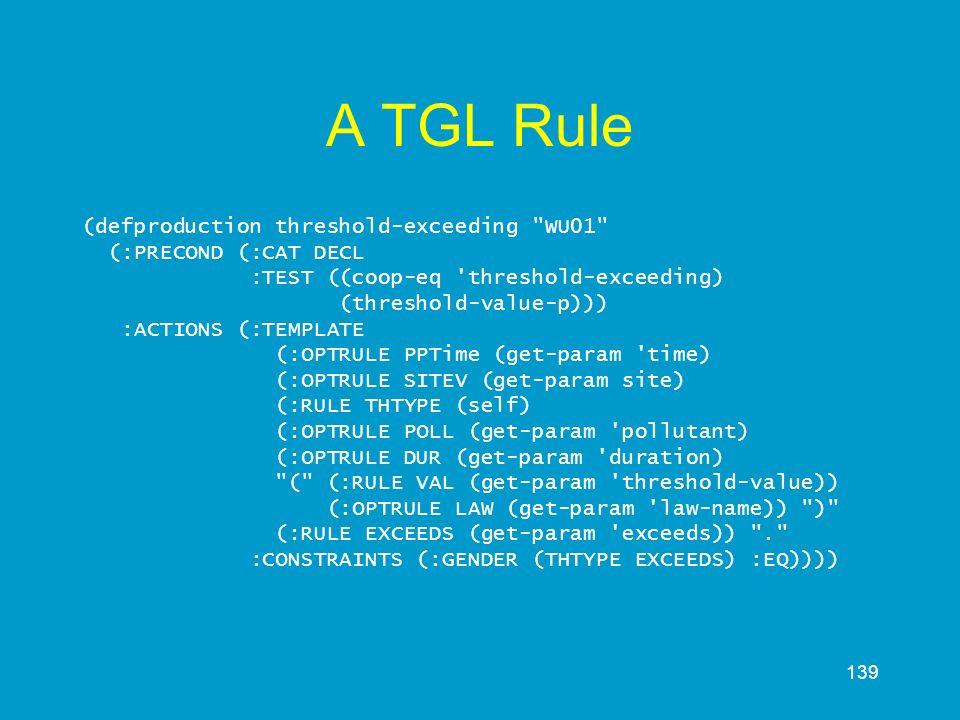A TGL Rule