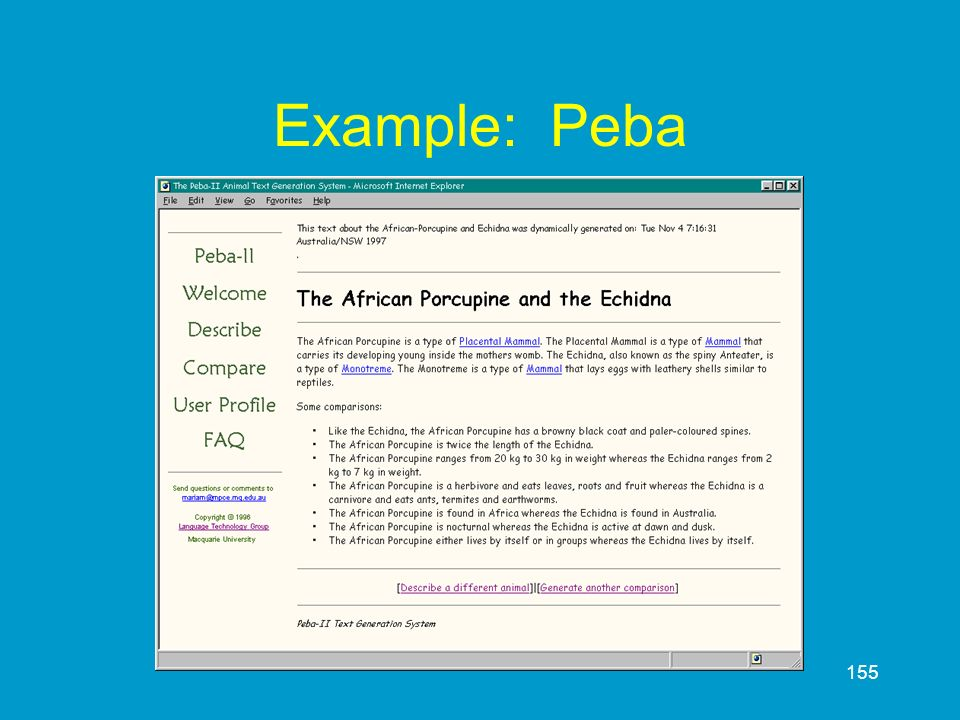 Example: Peba
