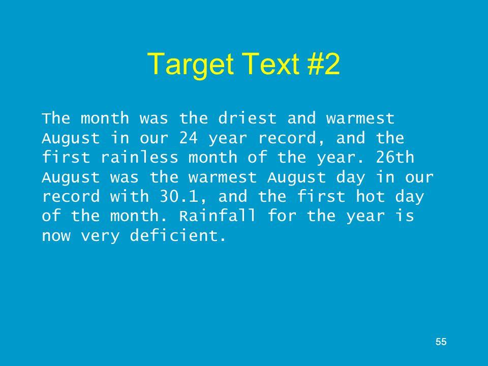 Target Text #2