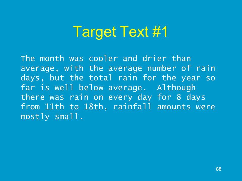 Target Text #1
