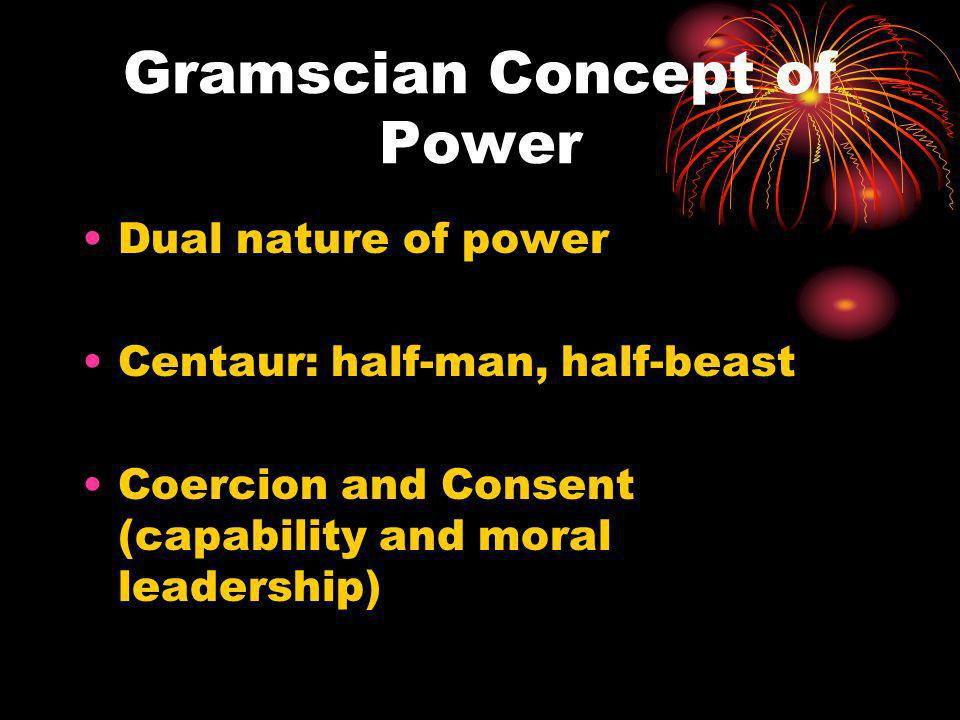 Gramscian Concept of Power