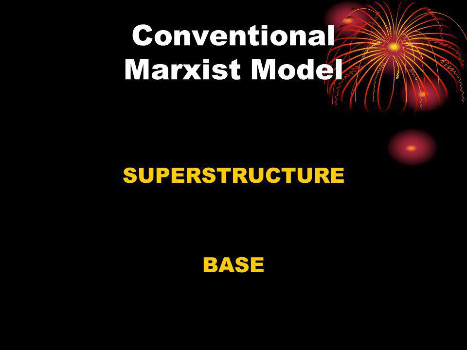 Conventional Marxist Model