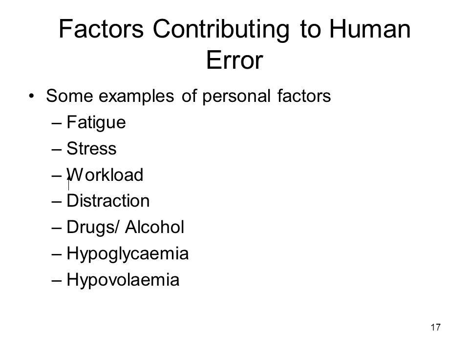 factors contributing to medication errors Studies conducted on prescribing of renally excreted medications suggest that there are high rates of prescribing errors in patients requiring monitoring and medication dose adjustment research published since 2002 provides a much stronger australian research base about the factors contributing to medication errors.