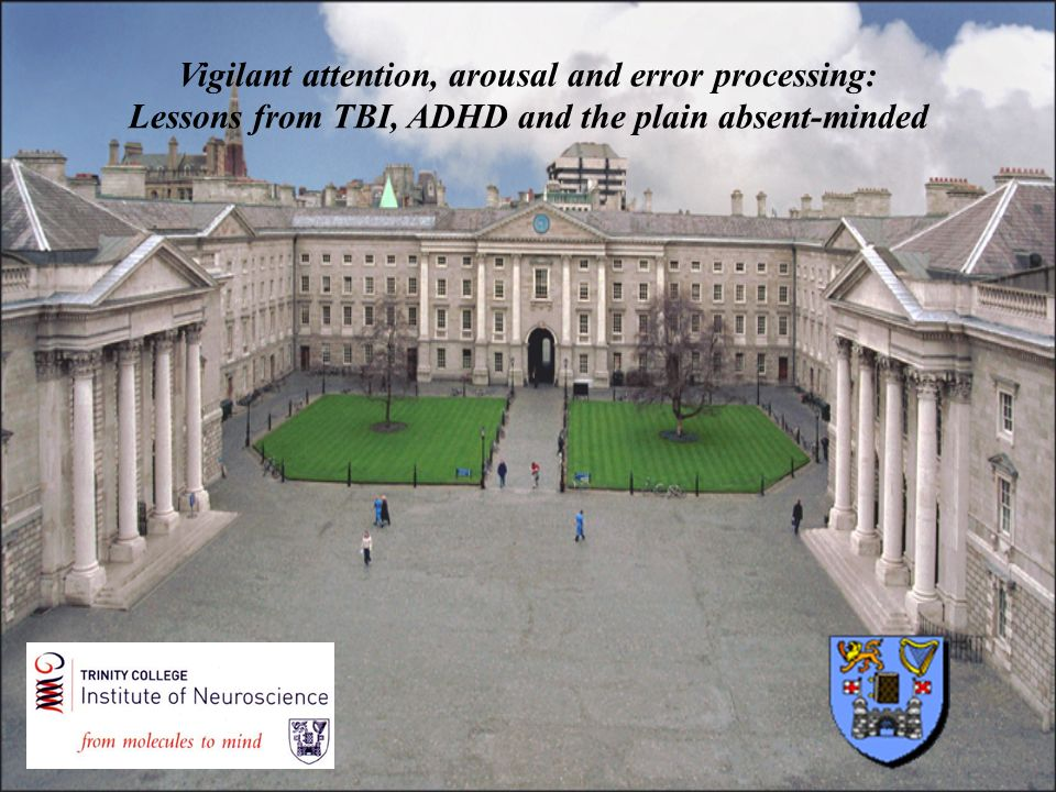 Vigilant attention, arousal and error processing: Lessons from TBI, ADHD and the plain absent-minded