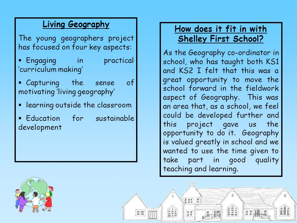 How does it fit in with Shelley First School