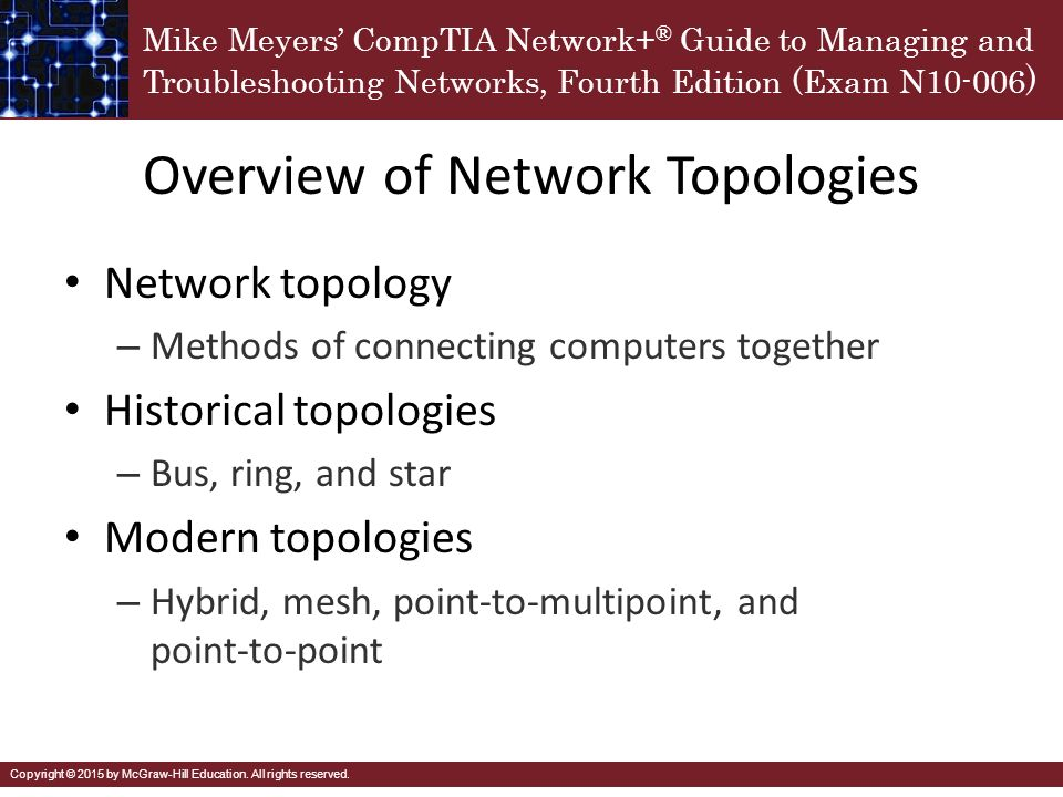 Cabling and topology chapter ppt video online download overview of network topologies sciox Choice Image