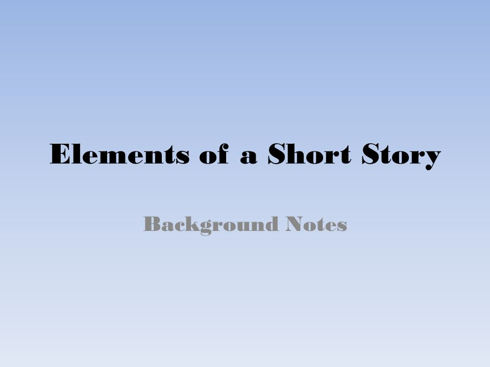 theme and narrative elements in the short story essay A short story tells about a single event or experience that illustrates some aspect of life great writers are able to use the elements of a short story with such precision that the reader is caught up in the action of the story three of the most important elements are point of view, irony and.
