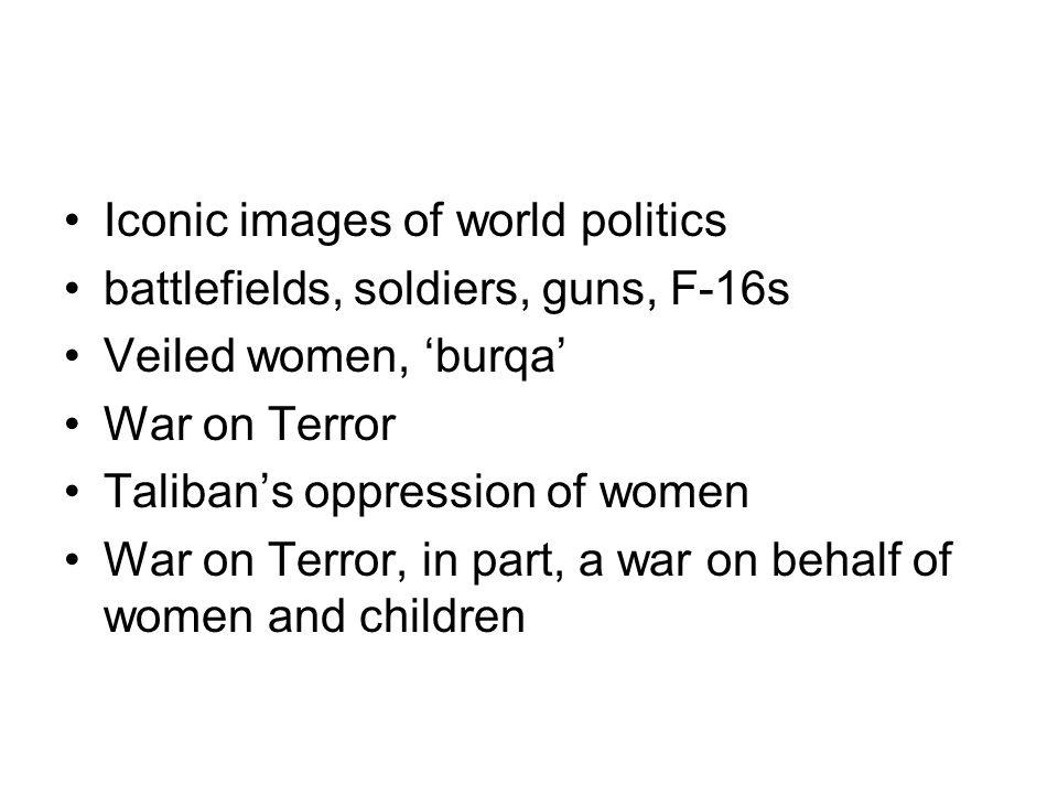 Iconic images of world politics