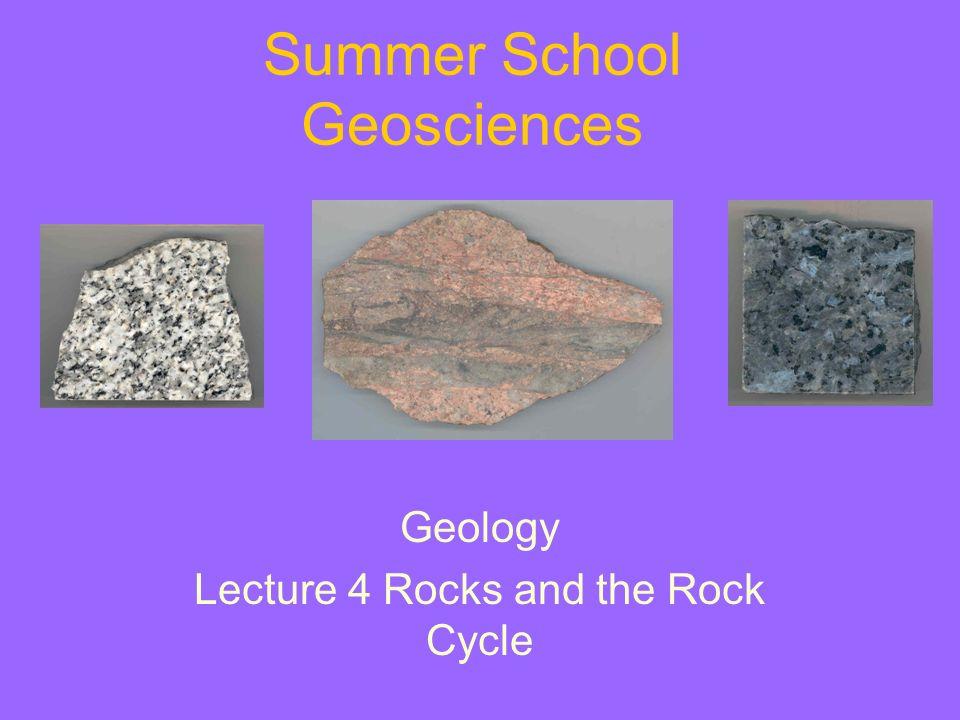 Summer School Geosciences