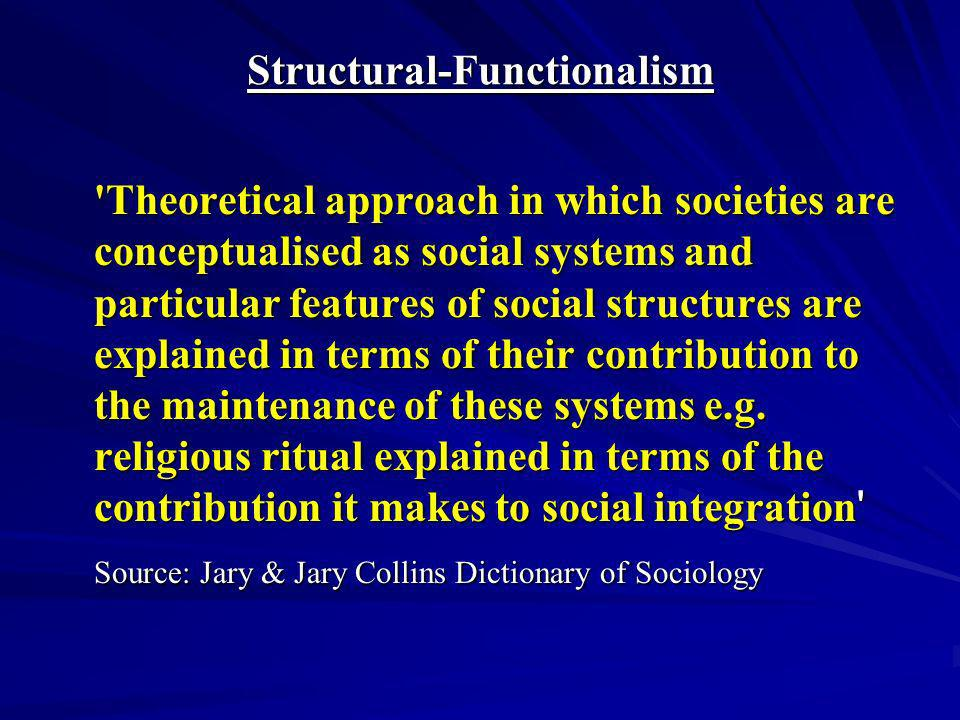 Sociology/ Conflict Theory And Functionalism term paper 16158