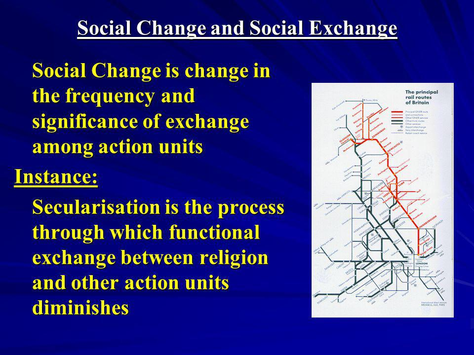 Social Change and Social Exchange