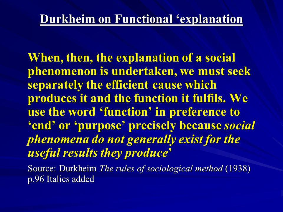 examine functionalism explanations of socialisation Assess the functionalist theory of culture adwoa agyei-ampomah culture is defined as the learned the interpretionist theory is stronger than the functionalist theory because in the western world similar to their explanation of socialization.