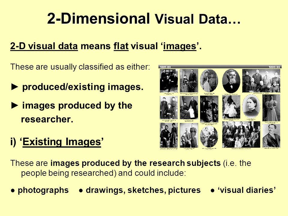 2-Dimensional Visual Data…
