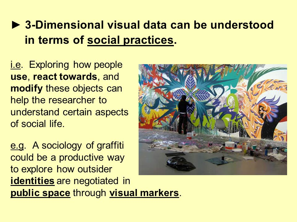 ► 3-Dimensional visual data can be understood