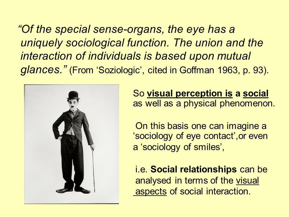 Of the special sense-organs, the eye has a