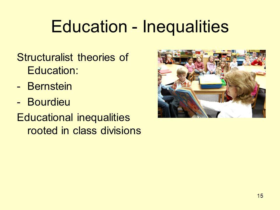 Education - Inequalities